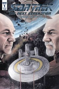 [Star Trek: The Next Generation: Through The Mirror #1 (Cover A Woodward) (Product Image)]
