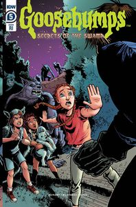 [Goosebumps: Secret Of The Swamp #5 (Meath Variant) (Product Image)]