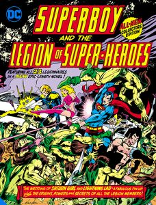 [Superboy & The Legion Of Super-Heroes (Tabloid Edition Hardcover) (Product Image)]