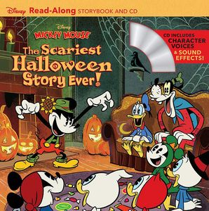 [Disney: Mickey Mouse: The Scariest Halloween Story Ever! (Read Along - Book & CD) (Product Image)]