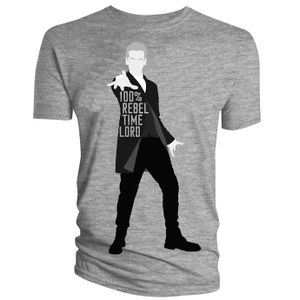 [Doctor Who: T-Shirts: 100% Rebel Time Lord (Product Image)]