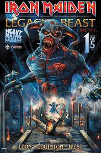 [Iron Maiden: Legacy Of The Beast: Volume 2: Night City #1 (Forbidden Planet Metallic Exclusive) (Product Image)]
