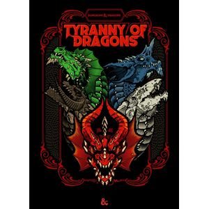 [Dungeons & Dragons: Tyranny Of Dragons: Hoard Of The Dragon Queen/The Rise Of Tiamat (Product Image)]