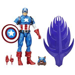 [Marvel: Captain America Civil War Legends: Wave 1 Action Figures: Captain America (Product Image)]