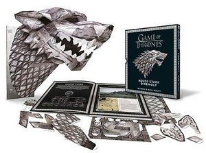 [Game Of Thrones: House Stark Direwolf Mask (Product Image)]