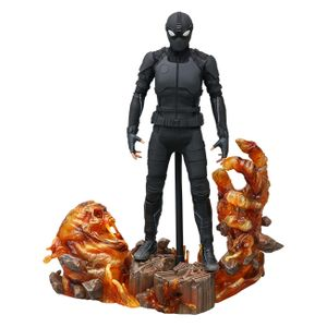 [Spider-Man: Far From Home: Hot Toys Action Figure: Stealth Suit Spider-Man (Deluxe) (Product Image)]