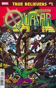 [True Believers: Annihilation: Quasar #1 (Product Image)]