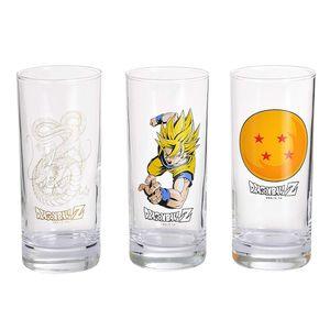 [Dragon Ball: Glasses (Set Of 3) (Product Image)]