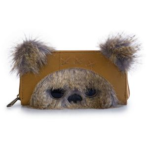 [Star Wars: Loungefly 3D Zip Around Wallet: Ewok Ears (Product Image)]