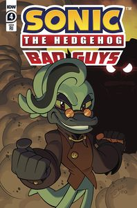 [Sonic The Hedgehog: Bad Guys #4 (Lawrence Variant) (Product Image)]