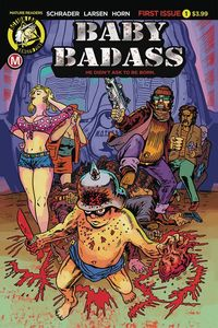 [Baby Badass #1 (Cover A Larsen) (Product Image)]