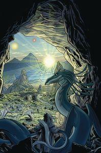 [Jim Henson: Beneath Dark Crystal #4 (Main Cover Dewey) (Product Image)]