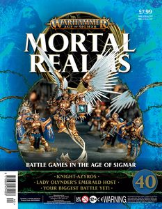[Warhammer: Age Of Sigmar: Mortal Realms #40 (Product Image)]