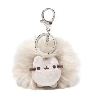 [Pusheen: Pom Keychain: Grey (Product Image)]