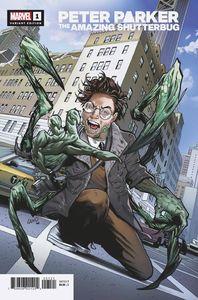 [Heroes Reborn: Peter Parker: Amazing Shutterbug #1 (Land Variant) (Product Image)]