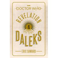 [Eric Saward signing Doctor Who: Revelation of the Daleks (Product Image)]