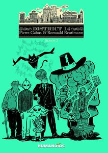 [District 14: Volume 2 (Hardcover) (Product Image)]