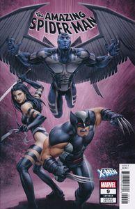 [Amazing Spider-Man #9 (Crain Uncanny X-Men Variant) (Product Image)]