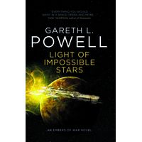 [Gareth L Powell signing Light of Impossible Stars (Product Image)]