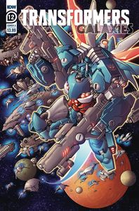 [Transformers: Galaxies #12 (Cover A Griffith) (Product Image)]