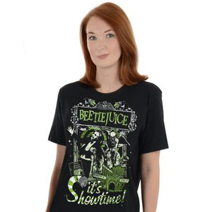 [Beetlejuice: T-Shirt: It's Showtime (Product Image)]