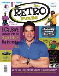 [The cover for Retrofan Magazine #1]