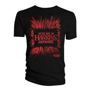 [Stranger Things: Series 4: T-Shirt: Not In Hawkins Any More (Product Image)]