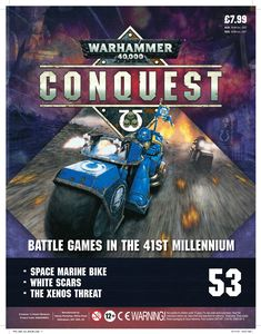 [Warhammer 40K: Conquest: Figurine Collection #53 (Product Image)]