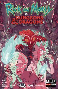 [Rick & Morty Vs D&D II: Painscape #2 (Cover B Goux) (Product Image)]