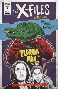 [X-Files Case: Files Florida: Man #2 (Cover B Lendl) (Product Image)]