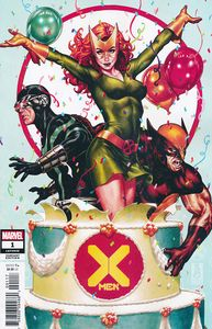 [X-Men #1 (Brooks Party Variant DX) (Product Image)]