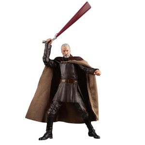 [Star Wars: Black Series Action Figure: Count Dooku (Product Image)]