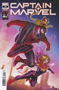 [Captain Marvel #32 (Nakayama Miles Morales 10th Anniversary Variant) (Product Image)]