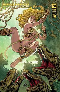 [Jungle Fantasy: Fauna #4 (Natural Beauty Variant) (Product Image)]