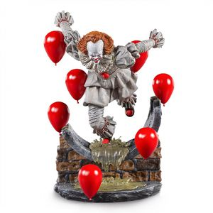 [IT: Chapter 2: Deluxe Art Scale Statue: Pennywise (Product Image)]