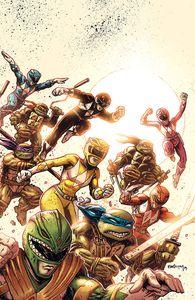 [Power Rangers/Teenage Mutant Ninja Turtles #1 (Variant) (Product Image)]