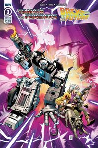 [Transformers/Back To Future #3 (Cover A Juan Samu) (Product Image)]