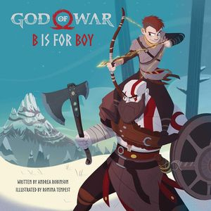 [God Of War: B Is For Boy: An Illustrated Storybook (Hardcover) (Product Image)]