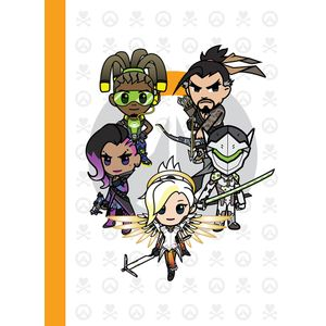 [Overwatch/Tokidoki: Journal: 5 Characters (Hardcover) (Product Image)]