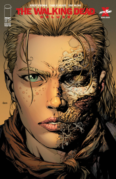 [The cover for Walking Dead: Deluxe #5 (Cover A Finch & Mccaig 2nd Printing)]