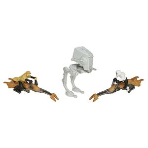 [Star Wars: The Force Awakens: Wave 1 Micro Machines 3 Packs: Endor Forest Battle (Product Image)]