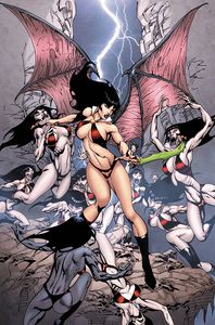 [Vampirella #17 (Castro Virgin Variant) (Product Image)]