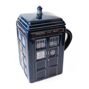 [Doctor Who: TARDIS Mug With Lid (Product Image)]
