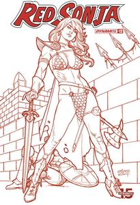 [Red Sonja #12 (Linsner Tint Dressed Variant) (Product Image)]