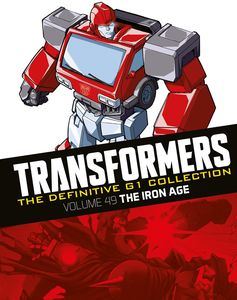 [Transformers: Definitive G1 Collection: Volume 38: The Iron Age (Product Image)]