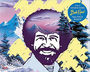 [Bob Ross: Happy Little 500-Piece Puzzle (Product Image)]
