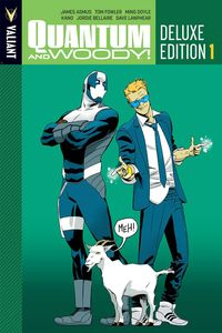 [Quantum & Woody: Volume 1 (Deluxe Edition Hardcover) (Product Image)]