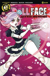 [The cover for Dollface #23 (Cover A Stanley)]