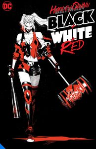 [Harley Quinn Black + White + Red (Product Image)]