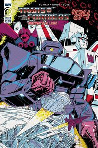 [Transformers: 84 Secrets & Lies #1 (Cover B Coller) (Product Image)]